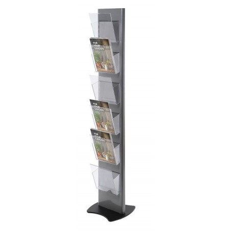Soporte para catálogos con portafolletos A4 a 1 cara