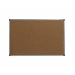 Tablero de corcho con marco de aluminio (serie Basic Board Aluminio)