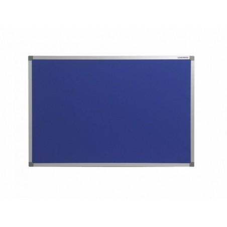 Tablero tapizado con marco de aluminio (serie Basic Board Aluminio)