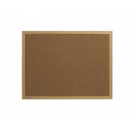 Tablero de corcho con marco de madera (serie Basic Board Consumible)