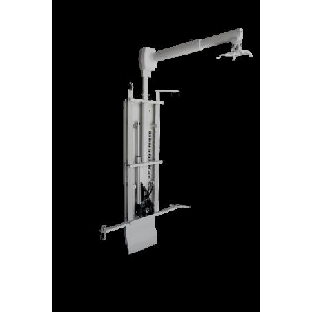 Soporte de pared con regulación de altura motorizada