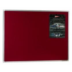 Tableros corcho tapizado marco de aluminio