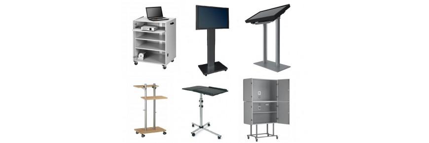 Muebles y soportes para equipos audiovisuales