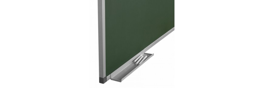 Pizarras verdes para tizas de pared