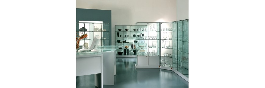 Vitrinas de exposición Laminado Glass +plus